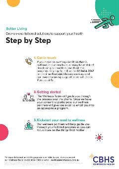 CBHS Corp Better Living Step By Step