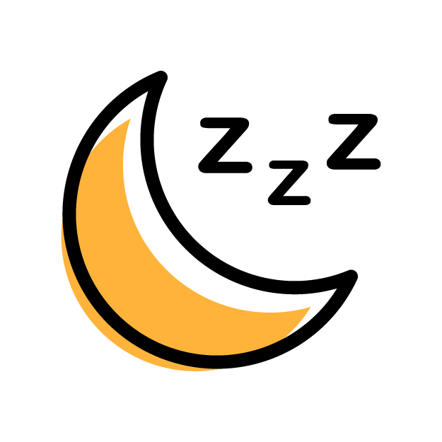 Sleep-icon-yellow